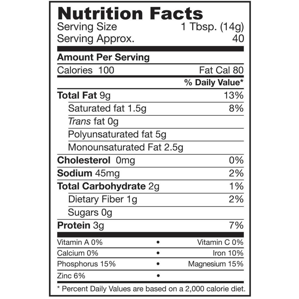 calorias semillas de calabaza