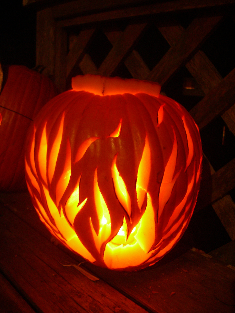 Calabazas de halloween c mo hacerlas decoraci n fotos - Decoracion calabazas para halloween ...